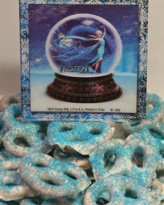 Disney's Frozen Party: Snowflake Snacks