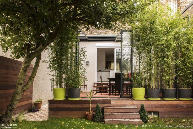 Une petite maison en meulière de 30m² au sol sur cinq niveaux, Clamart, ADC l'atelier d'à côté - architecte d'intérieur