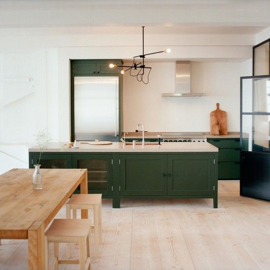 51 Green Kitchen Designs: Painted Kitchen Ideas For Walls