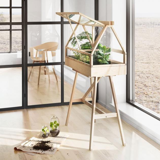 42 besten wohnen mit pflanzen bilder auf pinterest dekorieren holzbretter und kr uter. Black Bedroom Furniture Sets. Home Design Ideas