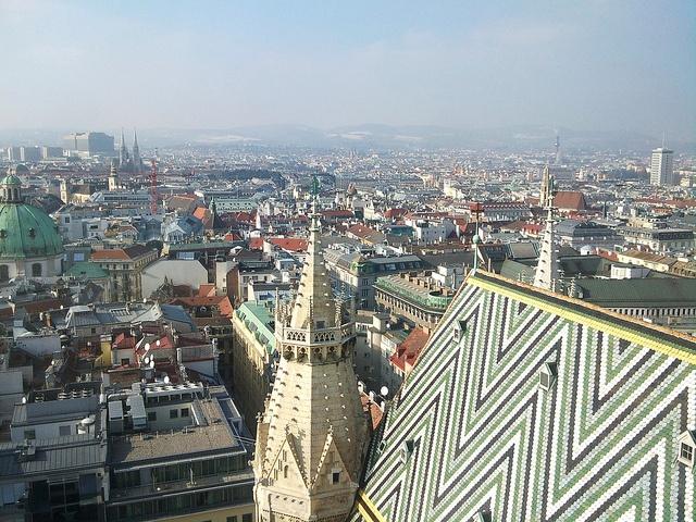 Wien von oben / Vienna from above / Bécs felülről (29) by AndreaGerak, via Flickr
