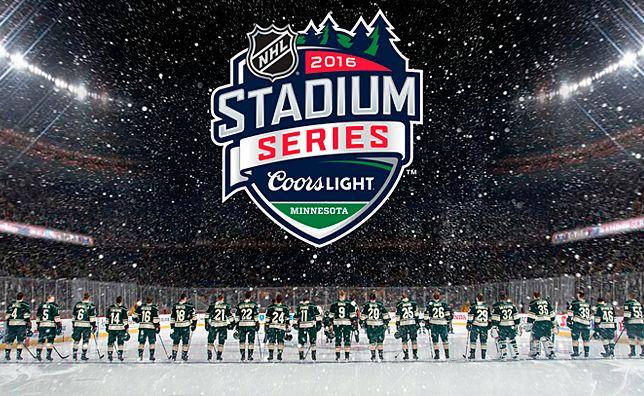 2016 Wild-Blackhawks Stadium Series. Can't wait.