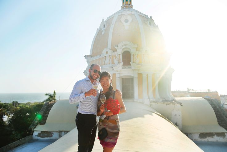We helped Leonid put a ring on it!  Book your #romantic plans with TIC for  a guaranteed SI! http://bit.ly/YhP4l6