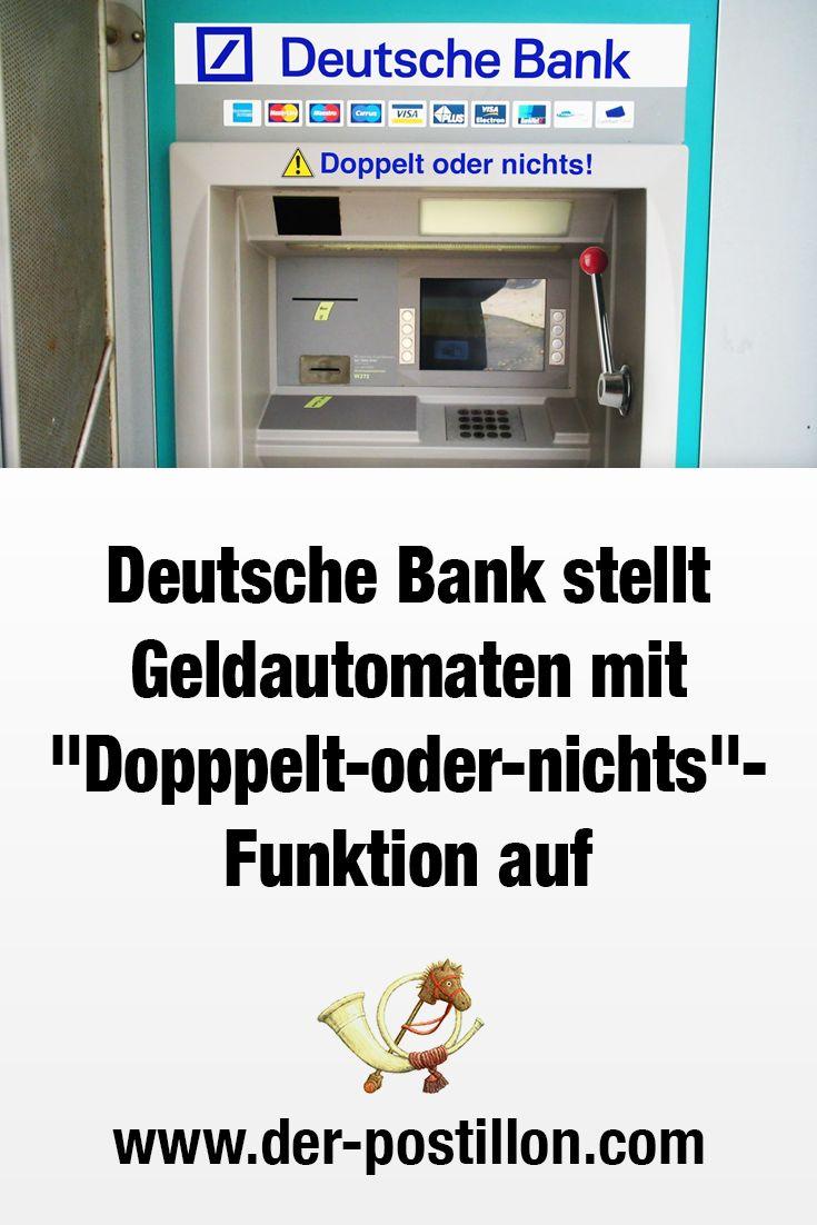 Deutsche Bank Geldautomaten