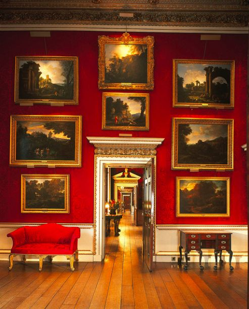 holkham hall is room after room filled with art.  i love it.  thank you, j
