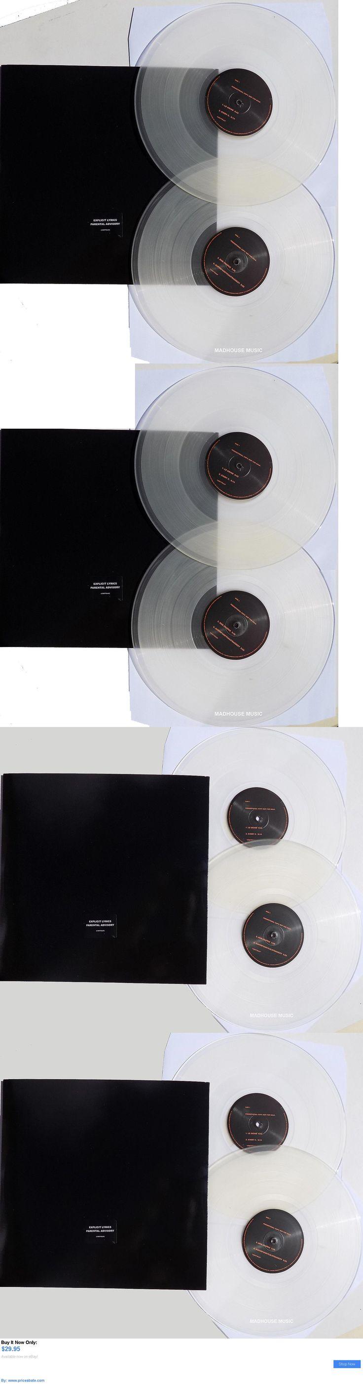 Music Albums: Prince Lp X 2 The Black Album Clear Vinyl Dj Promo 2016 BUY IT NOW ONLY: $29.95 #priceabateMusicAlbums OR #priceabate