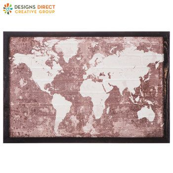 f0aaf5d3871c Vintage Map Tapestry Wall Decor