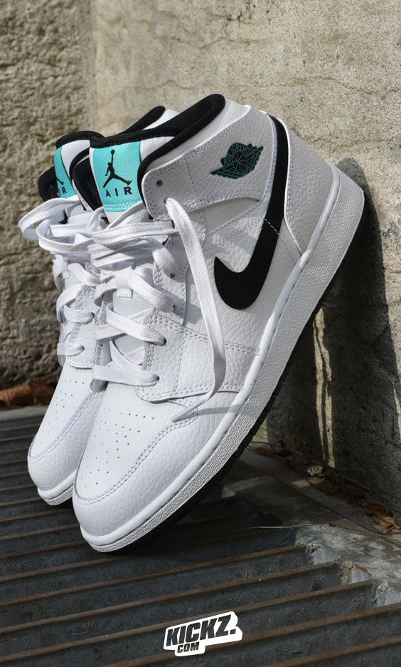 ... The Air Jordan 1 GG in a mix of black and white ...