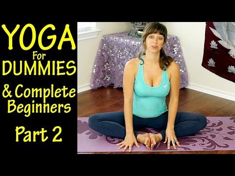 Yoga For Dummies & Complete Beginners Part 2 Flexibility & Low Back Pain At Home Workout - YouTube