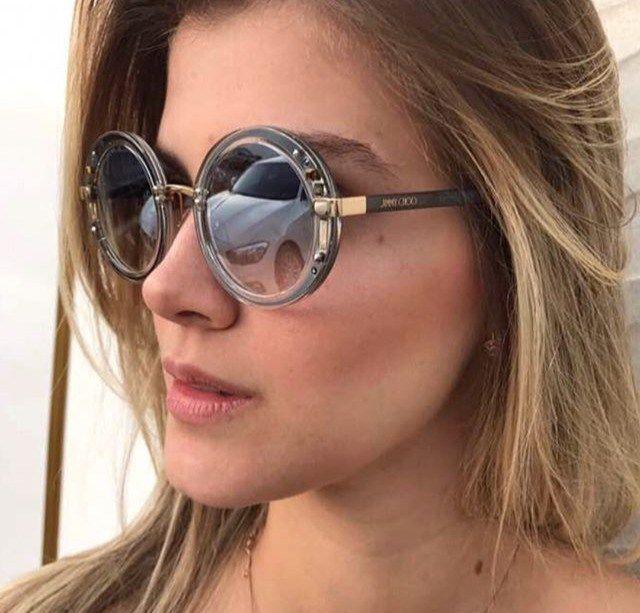 6e2d39fee58e0 Óculos de Sol Jimmy Choo™ - GEM - Cinza   Prata