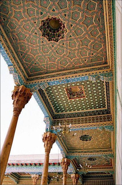 Islamic architecture - Bukhara   Bakhautdin Naqshband Mausoleum