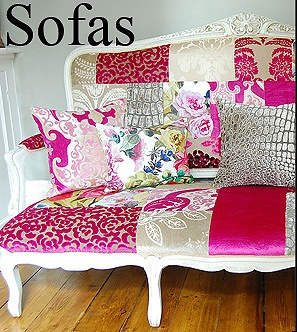 482 best sew patchwork upholstery images on pinterest for Chaise patchwork