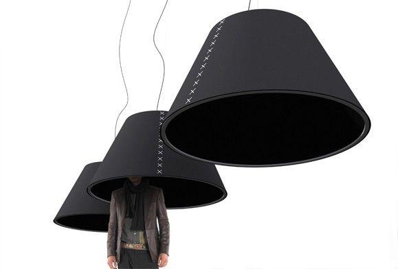 Sound absorbing lighting at Stockholm Furniture Fair | BuzziSpace