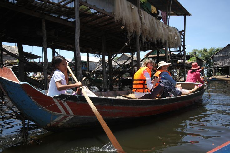 "Visiting Kampong Phluk - ""Harbor of the Tusks"". #SiemReap #VietnamSchoolTours #Cambodia"