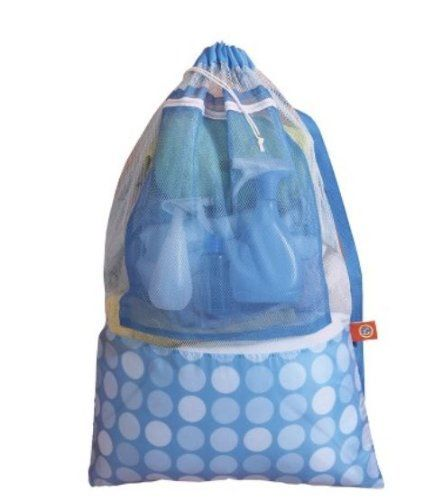 Tide Odor Absorbing Mesh Laundry Bag With Heavy Duty Shoulder Strap