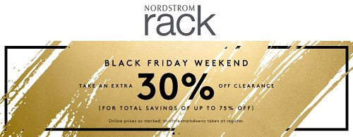 Nordstrom Rack Black Friday Sale - Extra 30% OFF Clearance + FREE Shipping! - http://couponingforfreebies.com/nordstrom-rack-black-friday-sale-extra-30-off-clearance-free-shipping/