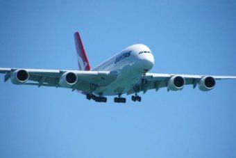 Qantas A380 jet