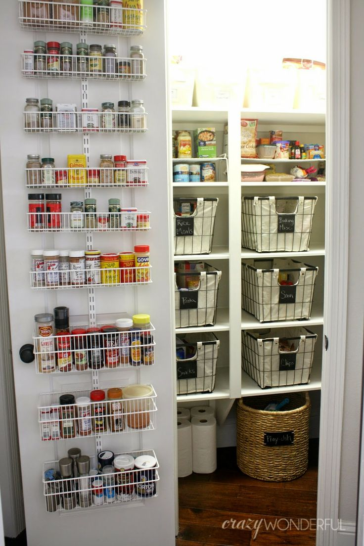 Best 25+ Pantry door storage ideas on Pinterest