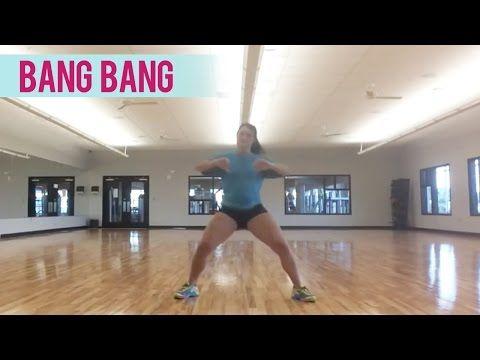 (B-3 min.)--Jessie J, Ariana Grande, Nicki Minaj - Bang Bang (Dance Fitness with Jessica) - YouTube