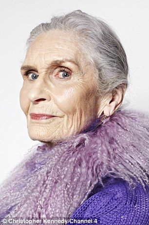 Advanced style: Daphne Selfe, 85, is a model fab lady gorgeous fashionable and sophisticated, and very very wise.