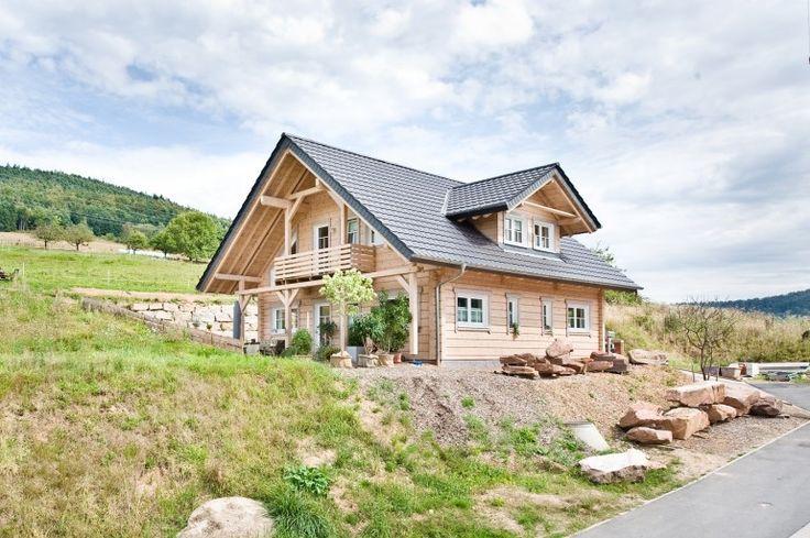 Honka Einfamilienhaus Modell Peak