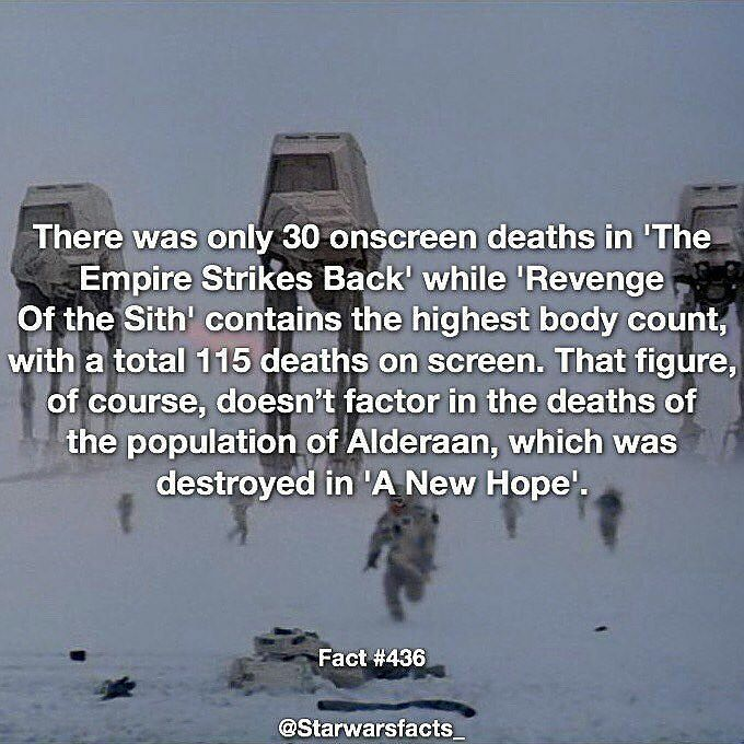 Gotta love @starwarsfacts_  and his daily dose  of Star wars  Follow for more…