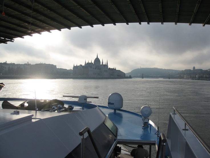 """""""The Legendary Danube"""" Sailing in to Budapest. Aboard the MS Amalyra (AMA Waterways)  photo: Richmond Travels #Budapest"""