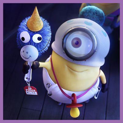 <3 Unicorno giocattolo. Minions