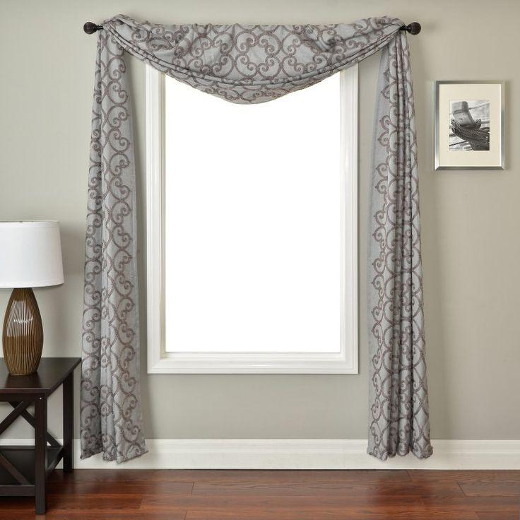 17 Best Ideas About Window Scarf On Pinterest Bathroom Window Treatments Window Treatments