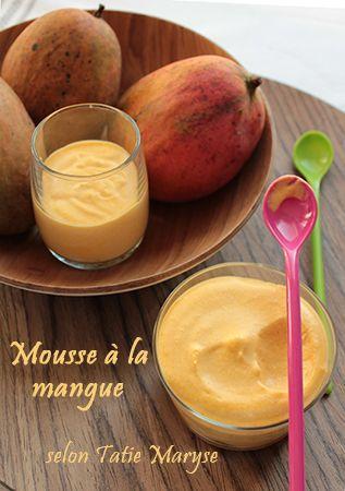 Recette de la mousse à la mangue, selon Tatie Maryse - Le blog de recettes antillaises de Tatie Maryse