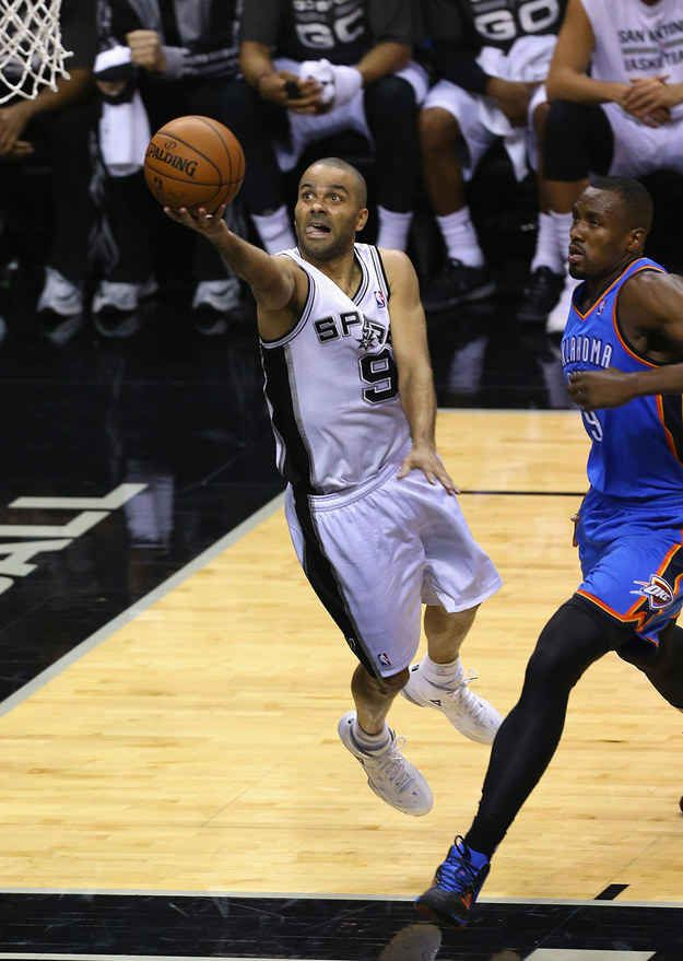 What about Tony Parker? How is he still quicker than everyone else on the floor?
