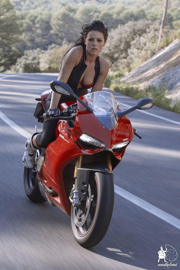Jenifer Y La Panigale Sportbike Girls Pinterest-4951