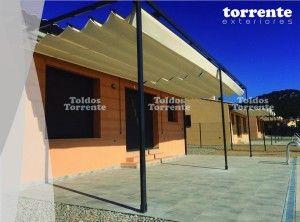 Pérgola aluminio AL1 By Toldos Torrente