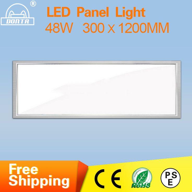 ultrathin led panel light recessed 1200300mm led ceiling office lamp metal led panel lights