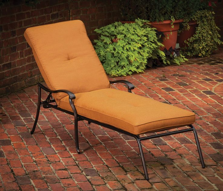 14 best images about patio chaise loungers on pinterest for Agio wicker chaise lounge