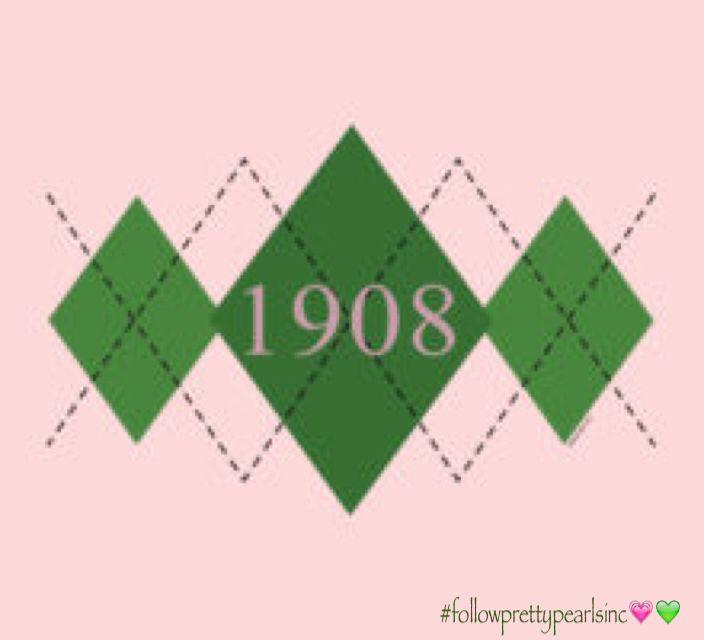 AKA 1908 #followprettypearlsinc