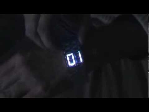 Reloj digital de Ciencia Ficción