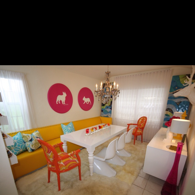 The Dining Room Miami: One Of My Favs! A Dining Room Inspired By The Iconic