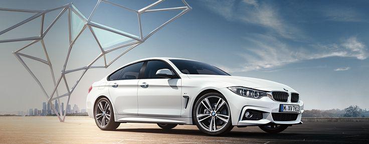 Das erste BMW 4er Gran Coupé: Eine neue Ära der Ästhetik.