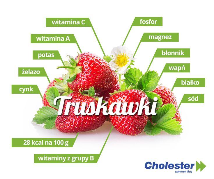 Truskawki często nazywane są symbolem lata. Gdy jest ciepło zajadamy się tymi czerwonymi i soczystymi owocami.  #truskawki #owoce #witaminy #zdrowie #jedzenie