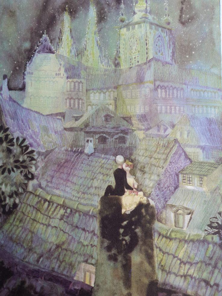 A personal favorite from my Etsy shop https://www.etsy.com/uk/listing/235350013/vintage-jiri-trnka-the-shepherdess-and