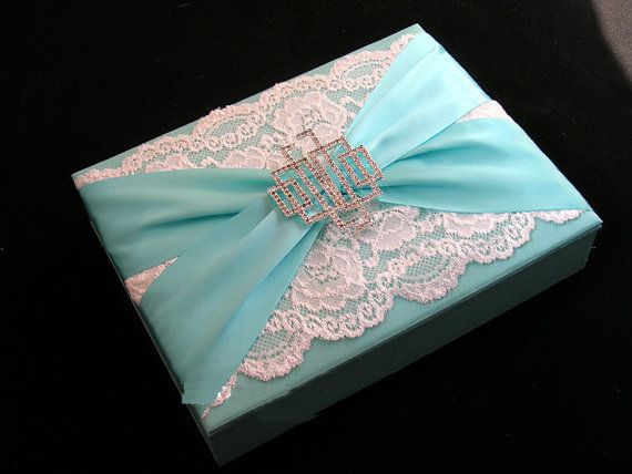 Custom Couture  Silk Box Wedding Invitations  Any by CarloCards, $50.00