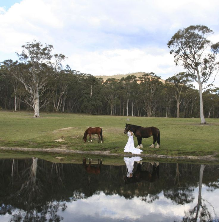 Unique photo opportunities at Megalong Valley Farm