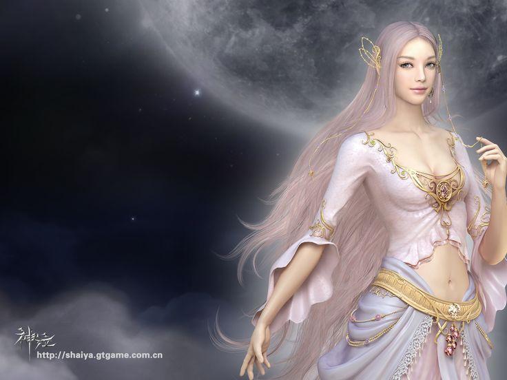 naked goddess shaiya