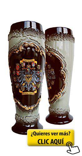 Jarra de cerveza alemana en forma de vaso... #jarra