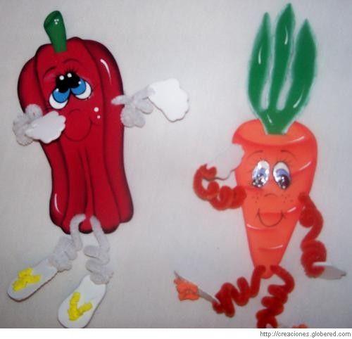 frutas en foami - Buscar con Google