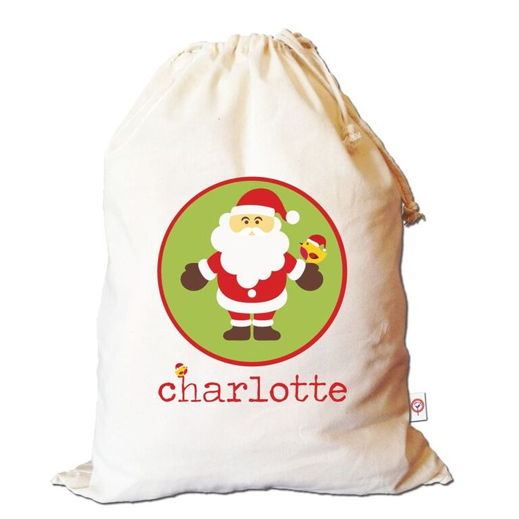 Christmas is such a magical time of year!! Add to your Christmas magic by purchasing this lovely personalised Santa Sack!