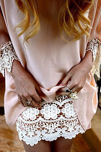 : Idea, Lace Lace, Style, Dream Closet, Outfit, Sewing Fashion, Lace Slip, Short Dresses