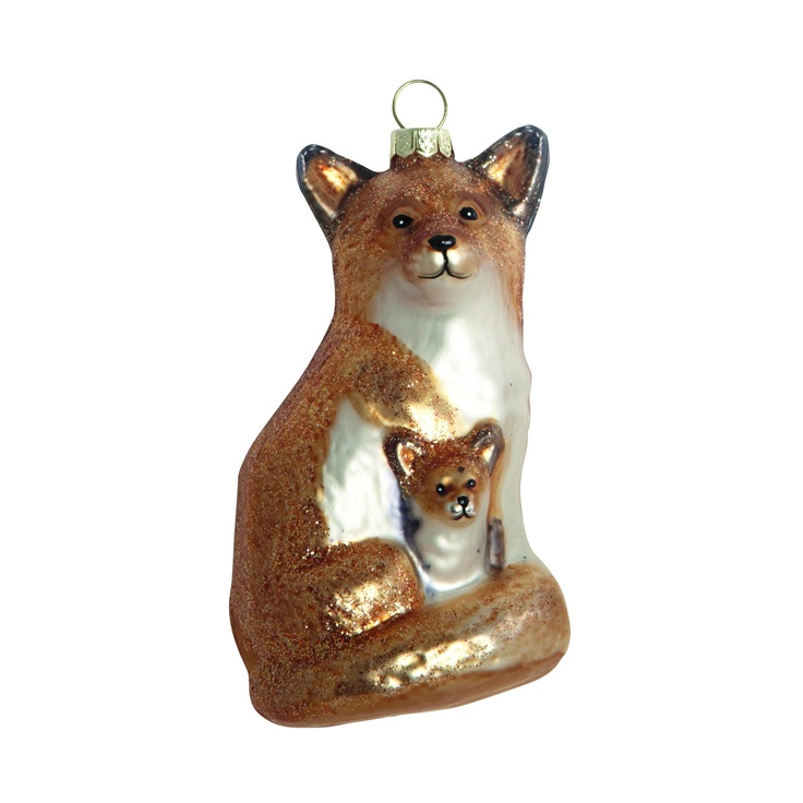Fox ornament i gruppen Inredningsdetaljer / Juldekoration hos RUM21 AB (113430)