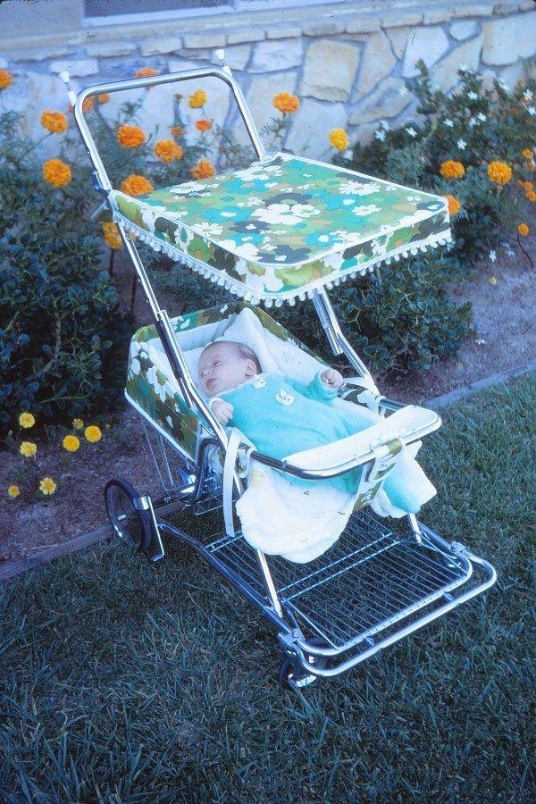 """1970s Baby Equipment """"Dangerous"""" Stroller, Swing, Crib"""